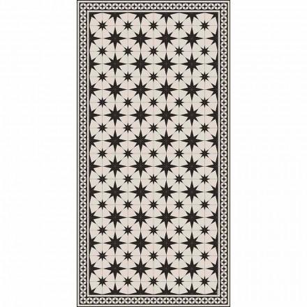 Modern design rechthoekig vinyl vloerkleed met fantasie - Osturio