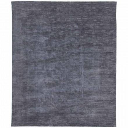 Groot en gekleurd tapijt met een gestreept en modern ontwerp voor de woonkamer - Prickle