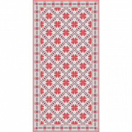 Design woonkamertapijt in rechthoekig vinylpatroon - Petunia