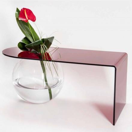 Moderne plexiglazen brugtafel gemaakt in Bolly, Italië