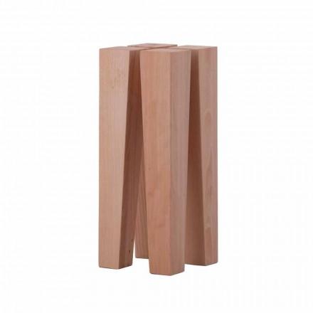 Moderne design lage salontafel in beukenhout - Roncone