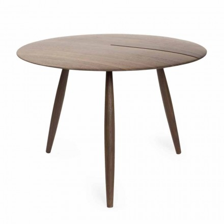 Salontafel in massief walnoot of essenhout Made in Italy - Maxime