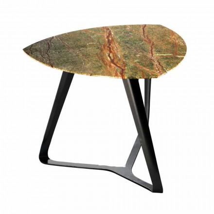 Handgemaakte salontafel met luxe marmeren blad gemaakt in Italië - Royal