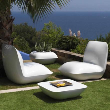 Outdoor salontafel Kussen Vondom, modern design 67x67 cm