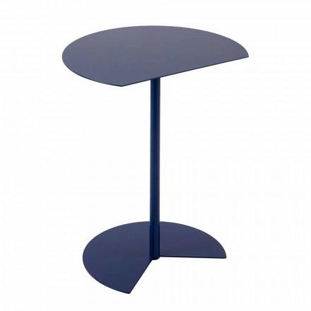Moderne design salontafel van gekleurd metaal in 3 maten - Cettina