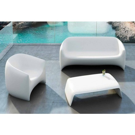 Tuin salontafel gemaakt met polyethyleen Blow Vondom, modern design