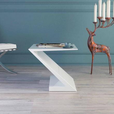 Zeta moderne design witte salontafel gemaakt in Italië