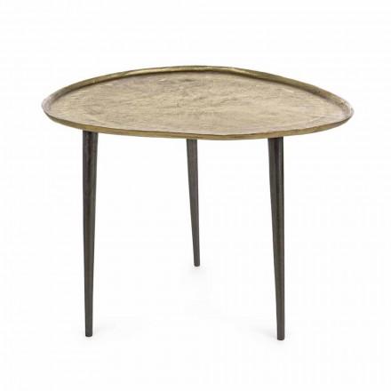 Homemotion Design salontafel met aluminium blad - Yamila
