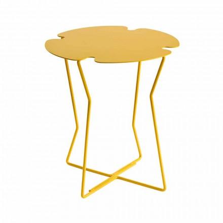 Moderne design salontafel van gekleurd metaal - Kathrin