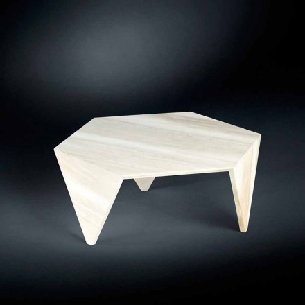 Volledig Marble Side Table Ruche