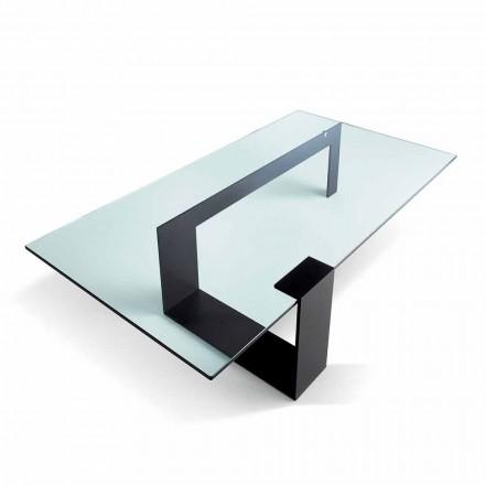 Modern design Extralight glazen salontafel gemaakt in Italië - Scoby