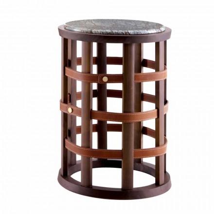 Moderne ronde rooktafel Grilli Harris gemaakt in Italië