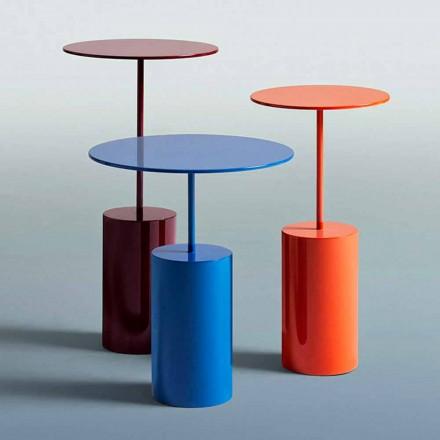 Modern design ronde gekleurde tafel voor woonkamer - cocktail