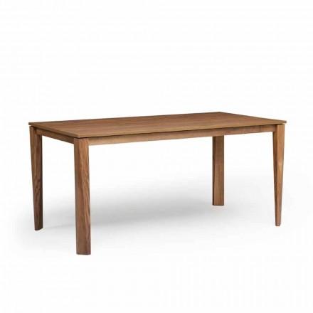 Uitschuifbare designtafel met essenhouten voet, Medicina