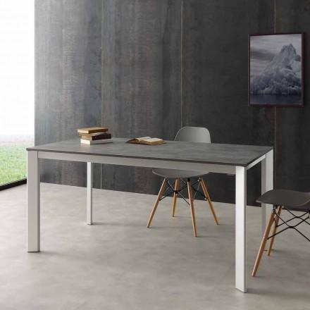 Uitschuifbare tafel tot 3 meter aluminium laminaat Hpl Urbino