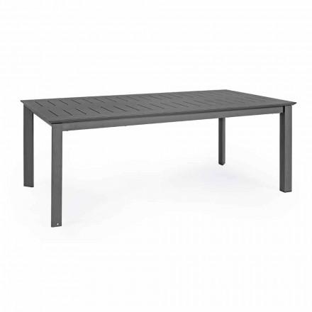 Uitschuifbare buitentafel in aluminium modern design Homemotion - Casper