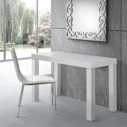 Uitschuifbare console tafel tot 325 cm in gelamineerd gemaakt in Italië - Gordito