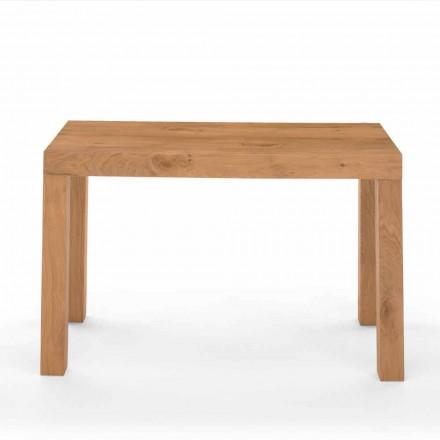 Uitschuifbare consoletafel in gefineerd hout Made in Italy - Gordito