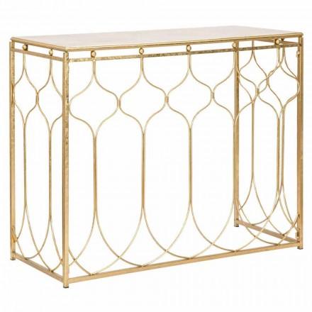 Modern design rechthoekige ijzeren consoletafel - Karine