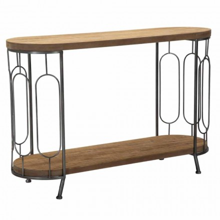 Moderne stijl consoletafel in ijzer en MDF - Trisha