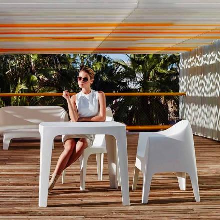 Buiten vierkante tafel Solid door Vondom in polypropyleen, modern design