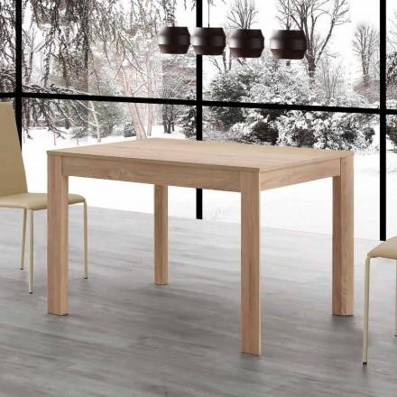 Fiumicino uitschuifbare eettafel 130x80 open 190 cm, design