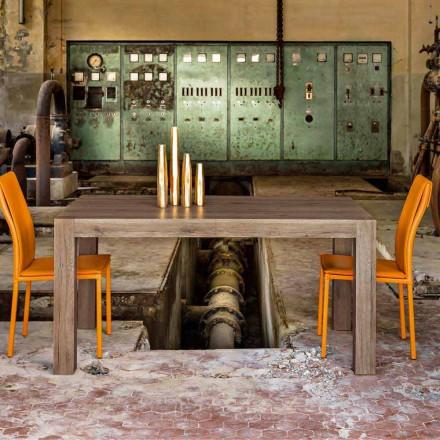 Eettafel uitschuifbaar tot 320 cm modern design Oky