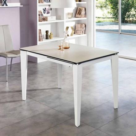 Dining keramische Uitschuiftafel, 120 / cm 170xP80, Bino