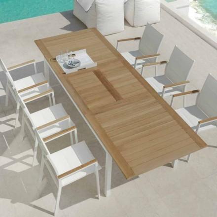 Eettafel tuin teak houten tafel Timber