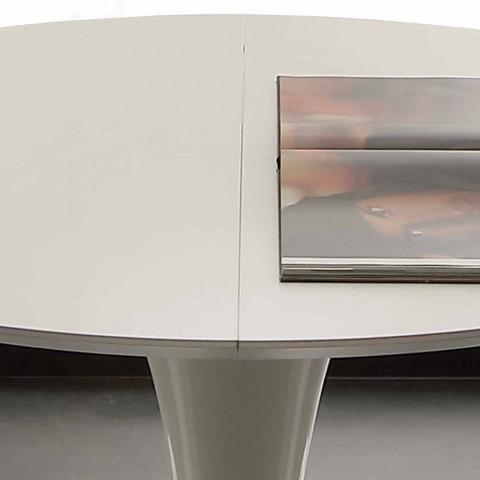 Ronde Tafel 170.Topeka Uittrekbare Ronde Eettafel Tot 170 Cm Modern Design