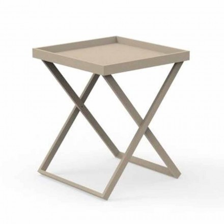 Design aluminium buitentafel, 2 hoogtes - Ray by Talenti