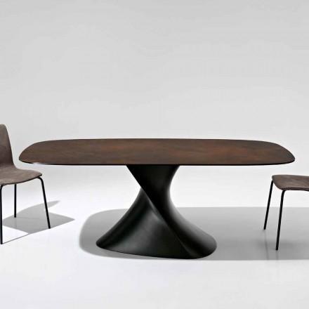 Moderne designtafel in glaskeramiek gemaakt in Italië, Clark