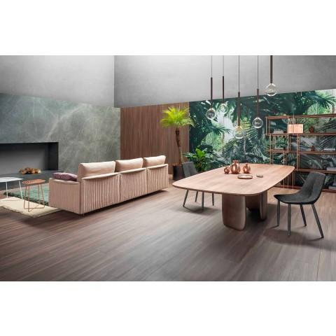 Moderne massief houten tafel Made in Italy - Bonaldo Mellow