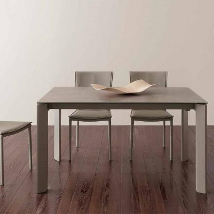 Terni uitschuifbare keramische tafel tot 240 cm