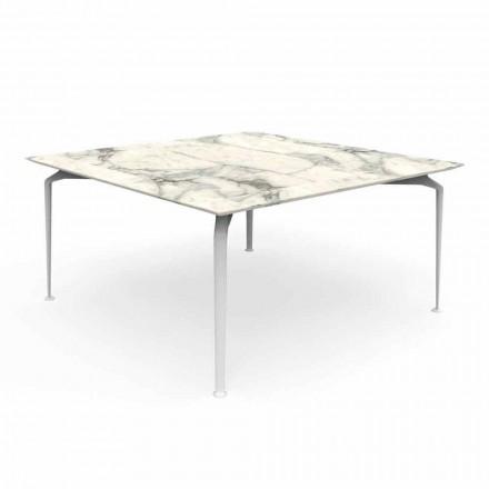 Modern design buitentafel Gres en aluminium - Cruise Alu Talenti