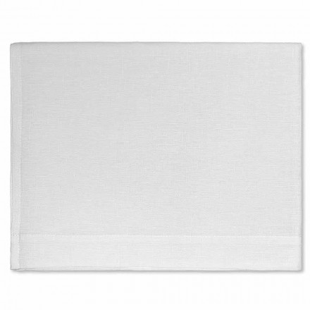 Badhanddoek in crème of natuurlijk wit zuiver linnen Made in Italy - Blessy