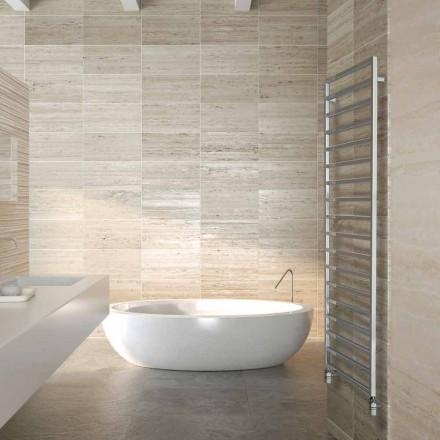 Termoarredo hydraulische design badkamer, chroom, Winter Scirocco H