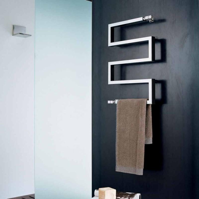 elektrische chroom radiator in modern design Slang door Scirocco H