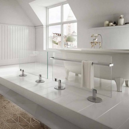 Termoarredo ontwerper transparant glas Star elektrische vloerverwarming