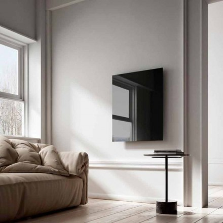 Elektrische uitvoering Termoarredo infrarood zwart glas Clear