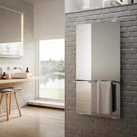 elektrisch glazen radiatoren Star spiegel design, gemaakt in Italië