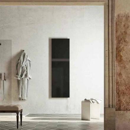 Modern design verwarmd handdoekenrek, geproduceerd in Italië door Fidenza