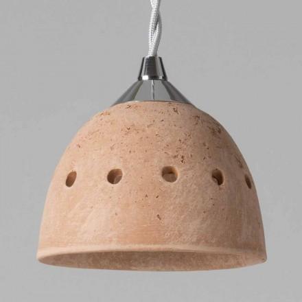 TOSCOT Apuaanse hanglamp zonder rozet Made in Toscane
