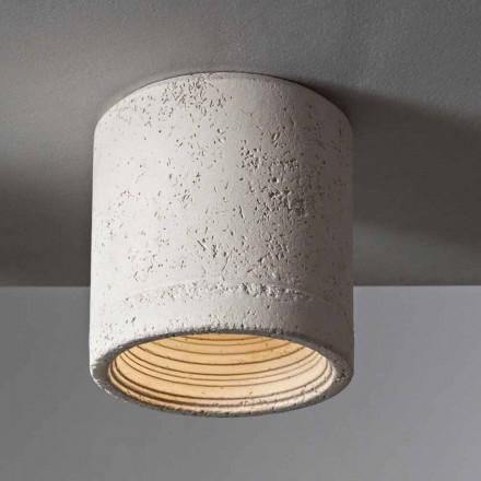 TOSCOT Karst plafondlamp Ø 13 cm Made in Toscane