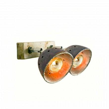 TOSCOT Noceto reglette twee knipperlichten gemaakt in Toscane