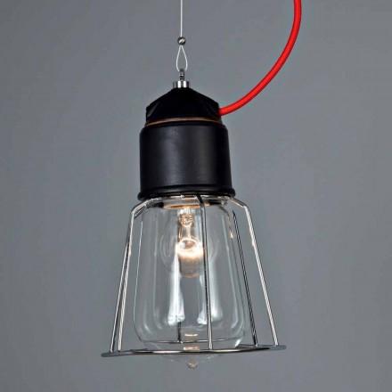 TOSCOT twintigste eeuw hanglamp met rozet