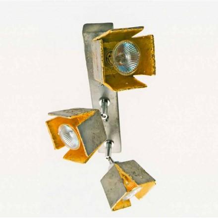 TOSCOT plaat reglette 3 directionele lichten heeft gemaakt in Toscane