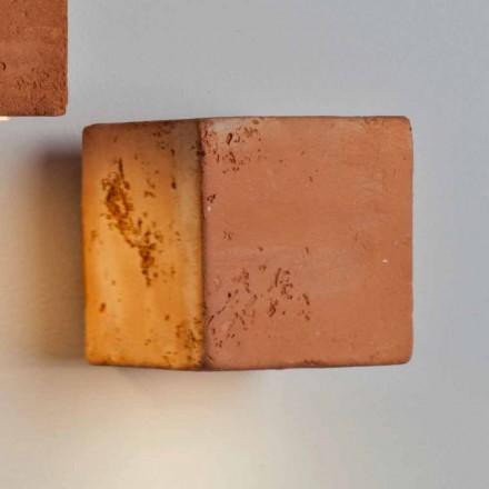 TOSCOT Smith applique LED Buiten terracotta, handgemaakt