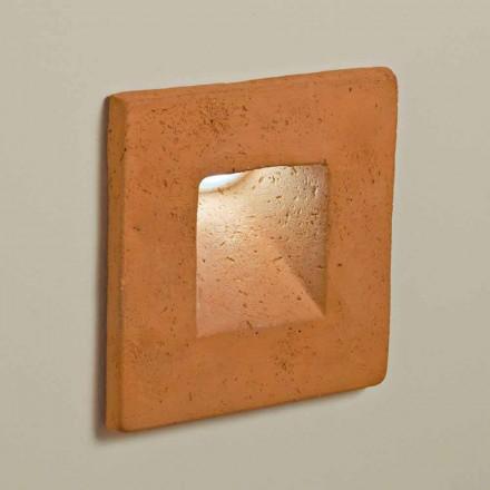 TOSCOT Plein applique vierkante LED Outdoor klei