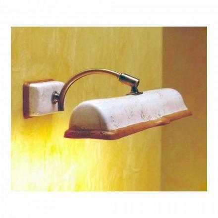 TOSCOT Vinci applique 2 directe verlichting gemaakt in Toscane